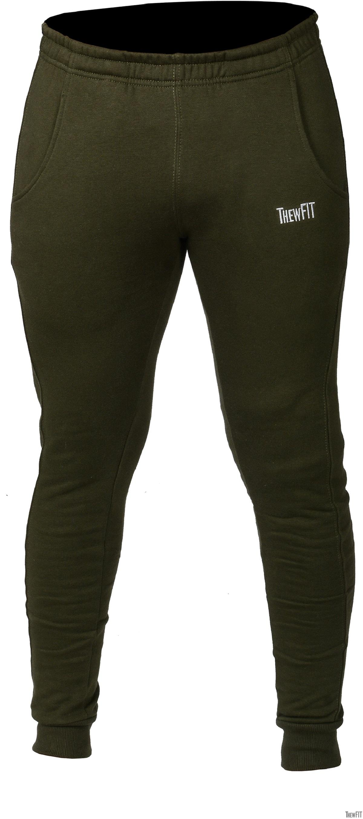 Gym Joggers - Millitary Green